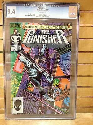 The Punisher #1 -CGC 9.4 white pages