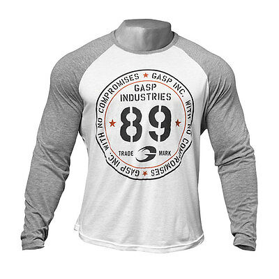NEW! Mens GASP T-Shirt Long Sleeve Size XXL