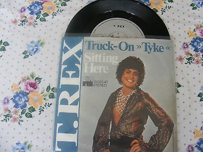 T.rex Truck On Tyke Rare 1973 German 7""