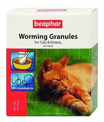 Beaphar Worming Wormer Granules Powder Cats