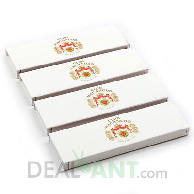 Club Macanudo Cigar Pack Box Wooden Matches *new In Box*