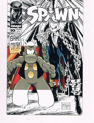 SPAWN #10  (IMAGE 1993)  TODD McFARLANE   CEREBUS THE AARKVARK APP.