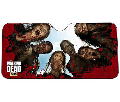 JustFunky The Walking Dead Zombie Car Sun Shade Novelty Automobile Accessories