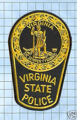 Police Patch -Virginia State Police