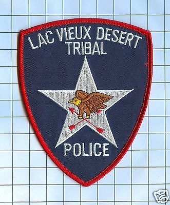 Police Patch - Lac Vieux Desert Tribal Ploce