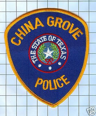 Police Patch - Texas - China Grove