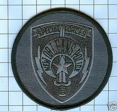Police Patch - Louisiana-  New Orleans Special Forces