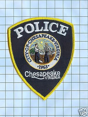 Police Patch - Virginia - City of Chesapeake