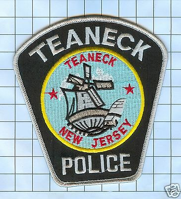 Police Patch - New Jersey Teaneck Police