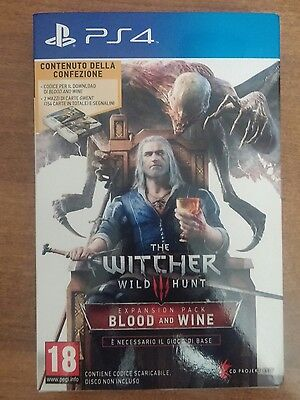 The Witcher 3 Blood And Wine Ps4