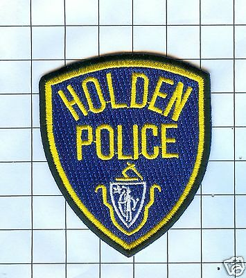 Police Patch - Maine Holden