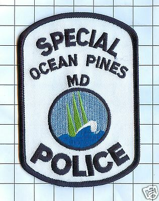 Police Patch - Maryland - Ocean Pines Special Police