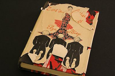 """Vintage Book """"Eve's Affairs"""" by Elza Storey 1st Edition 1934"""