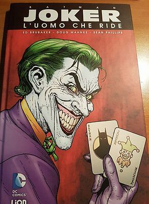 Batman - Joker l'uomo che ride | Dc Comics RW LION cartonato grandi opere