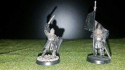 Games Workshop LORD OF THE RINGS - Gondor Captain and Banner