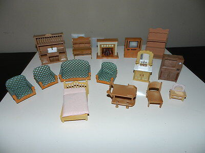 Epoch Calico Critters Sylvanian Family Furniture Lot