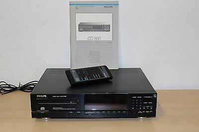 Philips CD - 880 Highend CD Player mit original Fernbedienung und BDA