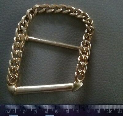 1  x Gold Colour Metal  Chain Buckle