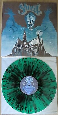 Ghost - Opus Eponymous - First Press - Green/black Splatter - Limited 300 X !!!