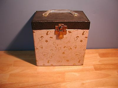 Vintage 45 RPM Record Carry Case
