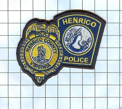 Police Patch - Virginia - Henrico County