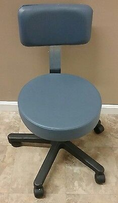 Ritter By Midmark Physicians Stool & Back Rest Exam Patient Chair Medical Office