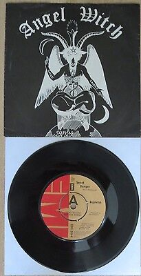 "Angel Witch - Sweet Danger - Promo Single / 7"" Inch - Rarität!!! - Emi 5064"