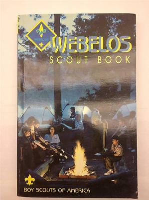 WEBELOS Scout Book BSA Boy Scouts of America Manual
