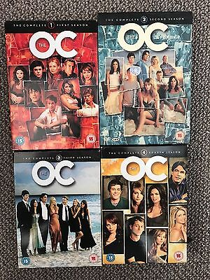 The OC complete DVD Box set Seasons 1-4