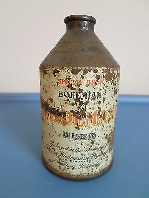 Vtg Very Rare SpecialBrew Bohemian WiedemannCrowntainer Cone Top Beer Can GB