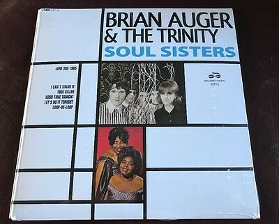 Brian Auger & The Trinity - Soul Sisters EP. RECORD STORE DAY 2017 RSD 17