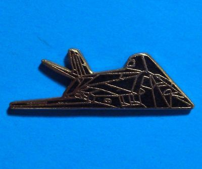 Stealth Bomber - Lockhead Martin F-117 - Usa Air Force - Vintage Lapel Pin