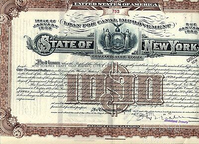 State Of New York $1000