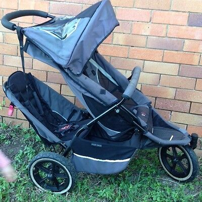 phill&ted e3 Double Pram