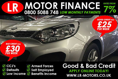 Kia Rio 1.25 ***GOOD / BAD CREDIT FINANCE*** FR £29 PER WEEK***