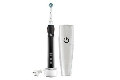 Oral B Pro 2500 Electric Rechargeable Toothbrush Powered by Braun - Black