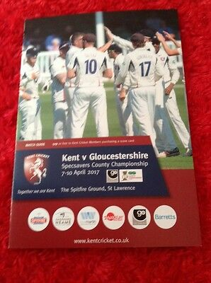 KENT v GLOUCESTERSHIRE  COUNTY CHAMPIONSHIP 2017