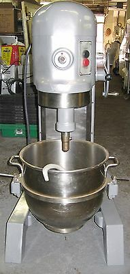 Hobart 60 Qt Bakery Donut Pizza Dough Mixer w/ new bowl and hook SINGLE PHASE 1