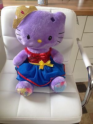 Build A Bear Factory Rare & Htf Purple Hello Kitty