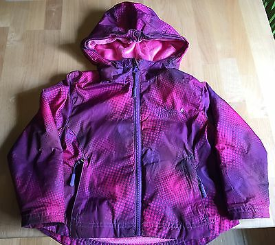 Toddler Girl Jacket - Size 4t - Weatherproof - Lined Shell Coat