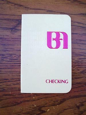 Bank of America Checking Account Vintage Register Book Deposits