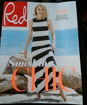 Red Magazine July 2017 subscribers cover - Naomi Watts