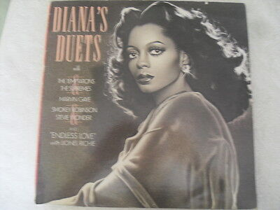 Diana Ross - Diana's Duets - Motown 1982 - vinyl LP record