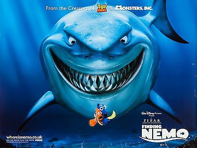 """Finding Nemo 16"""" x 12"""" Reproduction Movie Poster Photograph"""