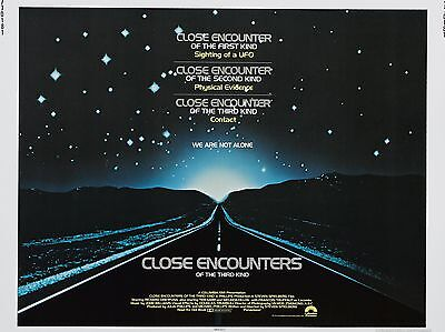 "Close encounters of third kind 16"" x 12"" Reproduction Movie Poster Photograph"