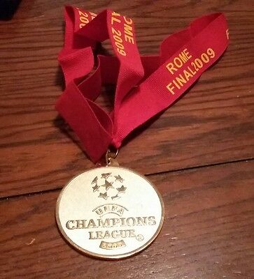 FC Barcelona and Manchester United REPLICA WINNERS MEDAL