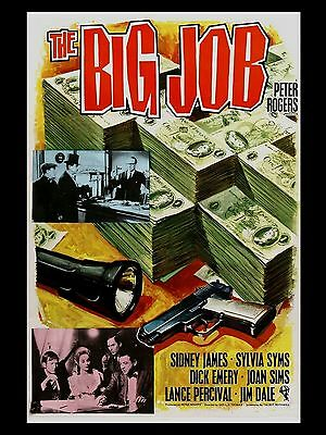 """The Big Job 16"""" x 12"""" Reproduction Movie Poster Photograph"""