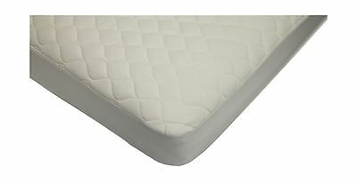 American Baby Company Waterproof Quilted Crib Size Fitted Mattress Cover made...