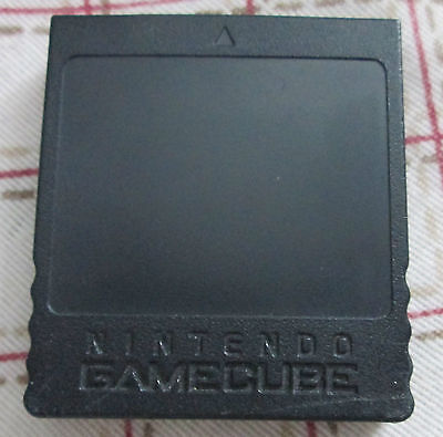 Genuine Nintendo Gamecube Memory Card DOL-014 251 blocks 16MB