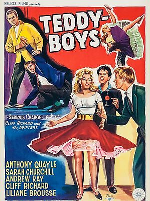 "Teddy Boys Cliff Richard 16"" x 12"" Reproduction Movie Poster Photograph"